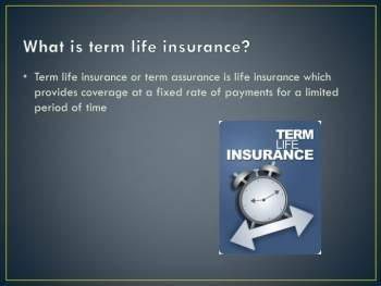 Why Term Life Insurance is the Smart Life Insurance