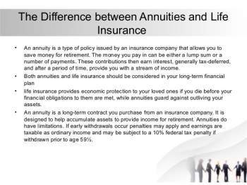 How do Annuities Work?, Types of Annuities,