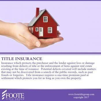 About Title Insurance, First Montana Land Title Company of Helena