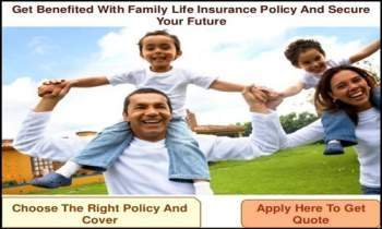 Receive Family Life Insurance Quotes,