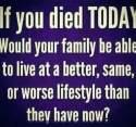 For life insurance