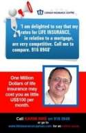 Joint term life insurance