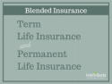 Whole term life insurance