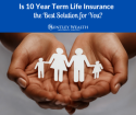 Guaranteed level term life insurance